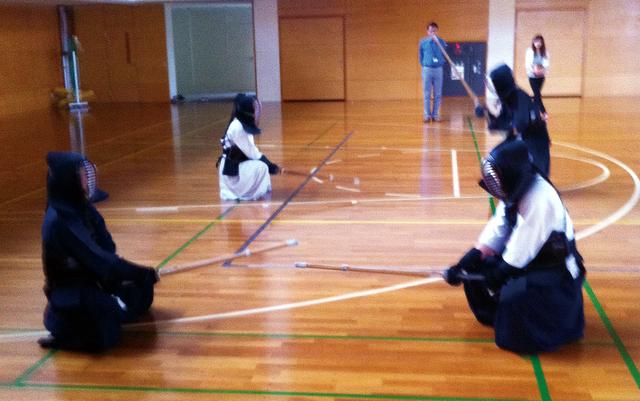 写真:剣道サークル
